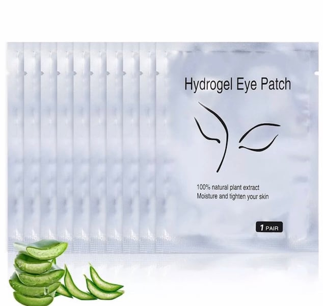 Lot 200 eye patch eyelashes extensions pads gel mask make up cosmetic 7246d7a3-ff86-4b37-8e20-a88b497063e7