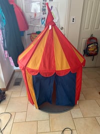 Red and yellow tent Livonia, 48154