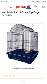Sun Conure bird cage. It was only used for 9 month Chicago, 60617