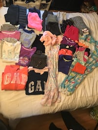 Girls size 7 and 8 mostly fall clothes Belleville, K8P 3Z3