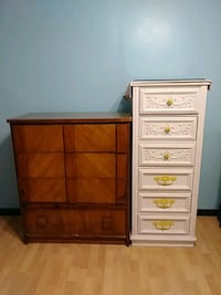 2- Chests top quality.  Redwood 4 drawers Moore, 73160