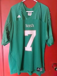Notre Dame Fighting Irish #7 XL Jersey