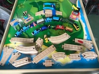 Large Thomas train set with activity table and trundle drawers Pinellas Park, 33762