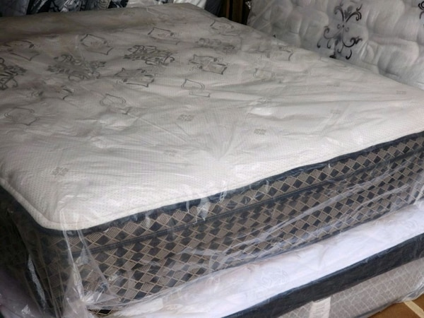 New queen mattress eurotop 400 delivery available