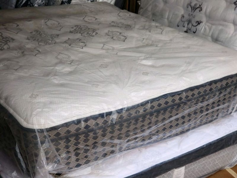 New queen mattress eurotop 400 delivery available  b552f773-430e-4af7-9279-a36d359cd70f