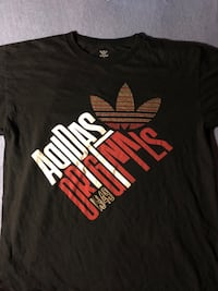 Adidas  Samoa Black, Red, White and Gold sneakers and shirt New York, 10457