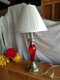 Red Like New Lamp