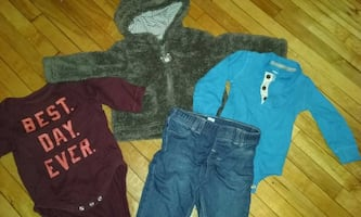 25 items- Baby Boys clothes Lot Size 6m 6-9m