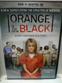 Orange is the new Black complete season 1 dvd