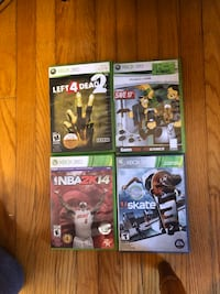 xbox 360 games (5$ each) Cambridge, N3H 2L2