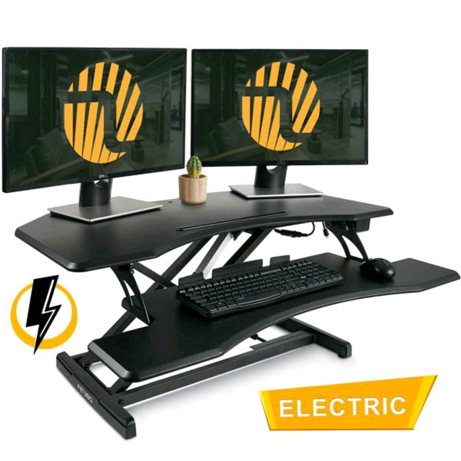 37 inch Electric Standing Desk Converter