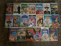 assorted-title DVD movie case lot