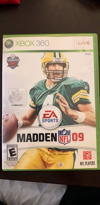 Madden 2009 (X Box 360) Washington, 20016