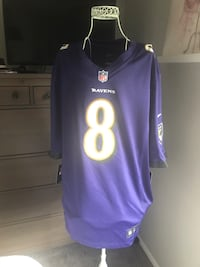 Men's Nike on the field NFL Jackson jersey #8 NWT size L Baltimore, 21221