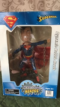 superman headstrong heroes dynamic bobble heads Port Colborne, L3K 3V2