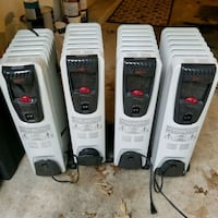 Oil heaters for sale  Fort Washington, 20744