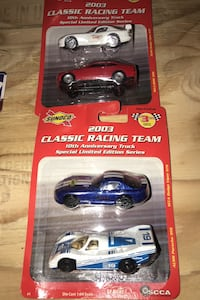 2003 classic racing team toy cars