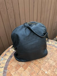 Black and gray leather bag Burnaby, V5H 3W3