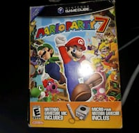 Nintendo Gamecube Mario Party 7..complete with mic St. Albert, T8N 0A1