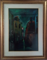 Oil painting on canvas Venice 6814 km