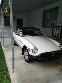 MG - 1979 Roadster California style