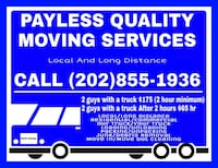 Long distance moving and furniture delivery  Springfield, 22151