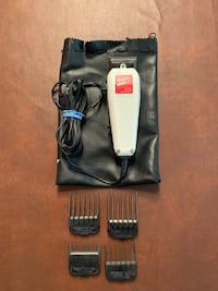 Wahl hair clippers and 4 attachments! Only used a few times. Works great! Sioux Falls, 57103