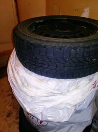 Four Winter Tires 185/60R15 Rims Included Waterloo, N2T