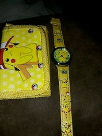 Brand new kids pokemon watch and wallet Bedford, 47421