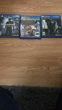 Three ps4 game opened but never been used Smithsburg, 21783