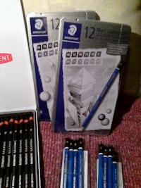 Drawing and Sketching pencils by Derwent and Staed Brampton