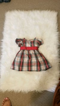Baby Girls CHAPS Holiday Plaid Dress Brampton, L6Y 6C9