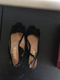 Black high heel night women shoes. Size 41eUR Bethesda, 20814