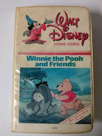 Winnie the Pooh and friends vhs