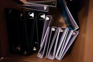 Collection of Binders- new and gently used