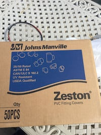 """1/2 inch and 3/4 pipe insulation 36"""" long plus the 50 zeston elbows Wantagh, 11793"""