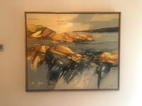 Anton Weiss abstract Oil painting