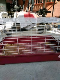 white and red pet cage Laredo, 78045
