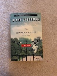 The Zookeeper's Wife by Diane Ackerman Fairfax, 22032