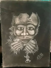 Bustin Out charcoal drawing buy Godly Pearl Las Vegas, 89169