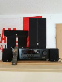 Black home theater speaker system West Kelowna, V4T 2P6