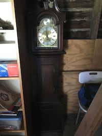 black wooden framed grandfather clock Woodbury, 08096