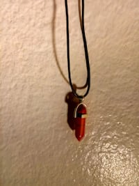 red stone pendant necklace Sacramento, 95825