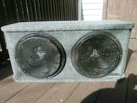 2 12inch subs in box,JL audio Putnam Valley, 10579