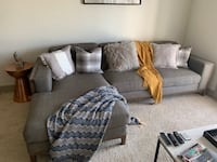 Cloth sectional couch Euless, 76039