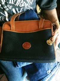 brown and black leather handbag Fresno, 93728