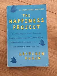 The Happiness Project book Winnipeg, R3N