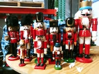 Lot of 9 nutcrackers Tampa, 33614