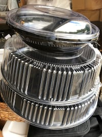 Plastic party platters and lids  Fairfax, 22033