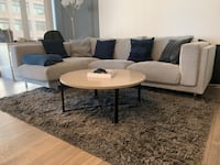 Nockeby IKEA 3-seat couch (with chaise longue) marbled grey Arlington, 22209